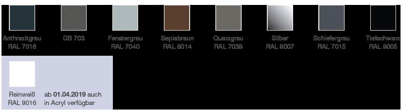 Acrylcolor Farben